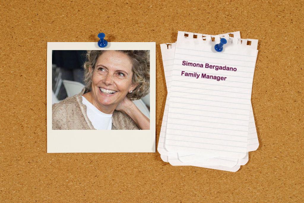 Simona Bergadano, family manager