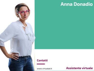 Anna Donadio, Assistente virtuale