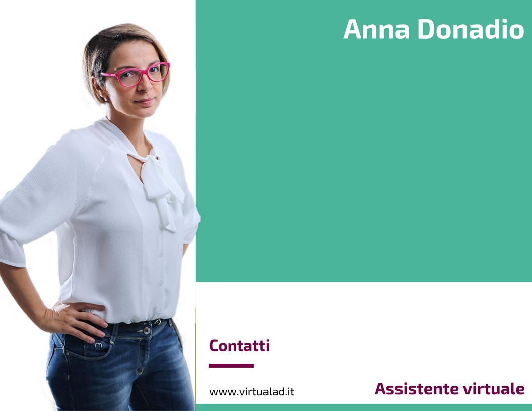 Anna Donadio, Assistente virtuale