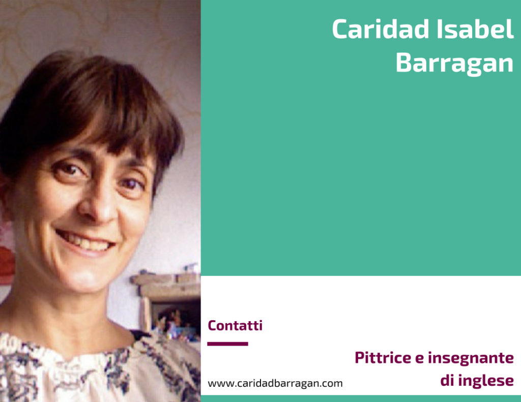 Caridad Isabel Barragan, Pittrice e insegnante di inglese