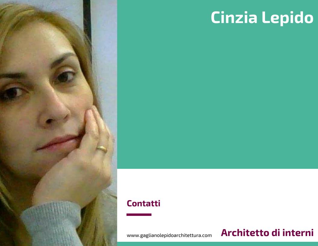Cinzia lepido architetto di interni for Architetto interni on line