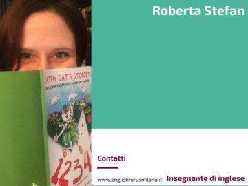 Roberta Stefan, insegnante di inglese