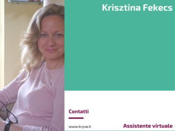 Krisztina Fekecs - Assistente virtuale