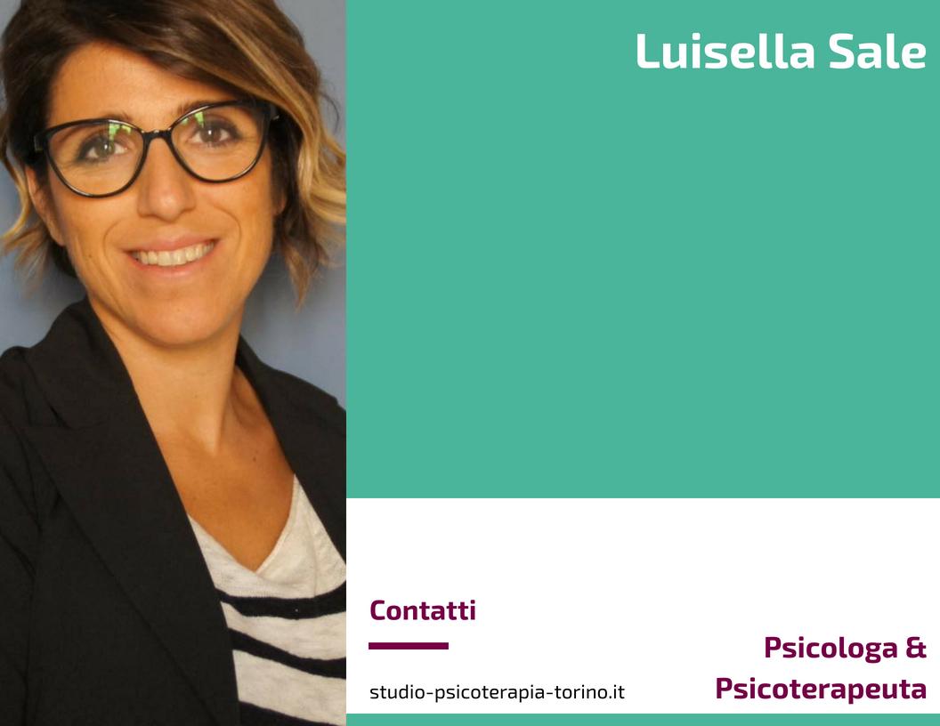 Luisella Sale - Psicologa & Psicoterapeuta