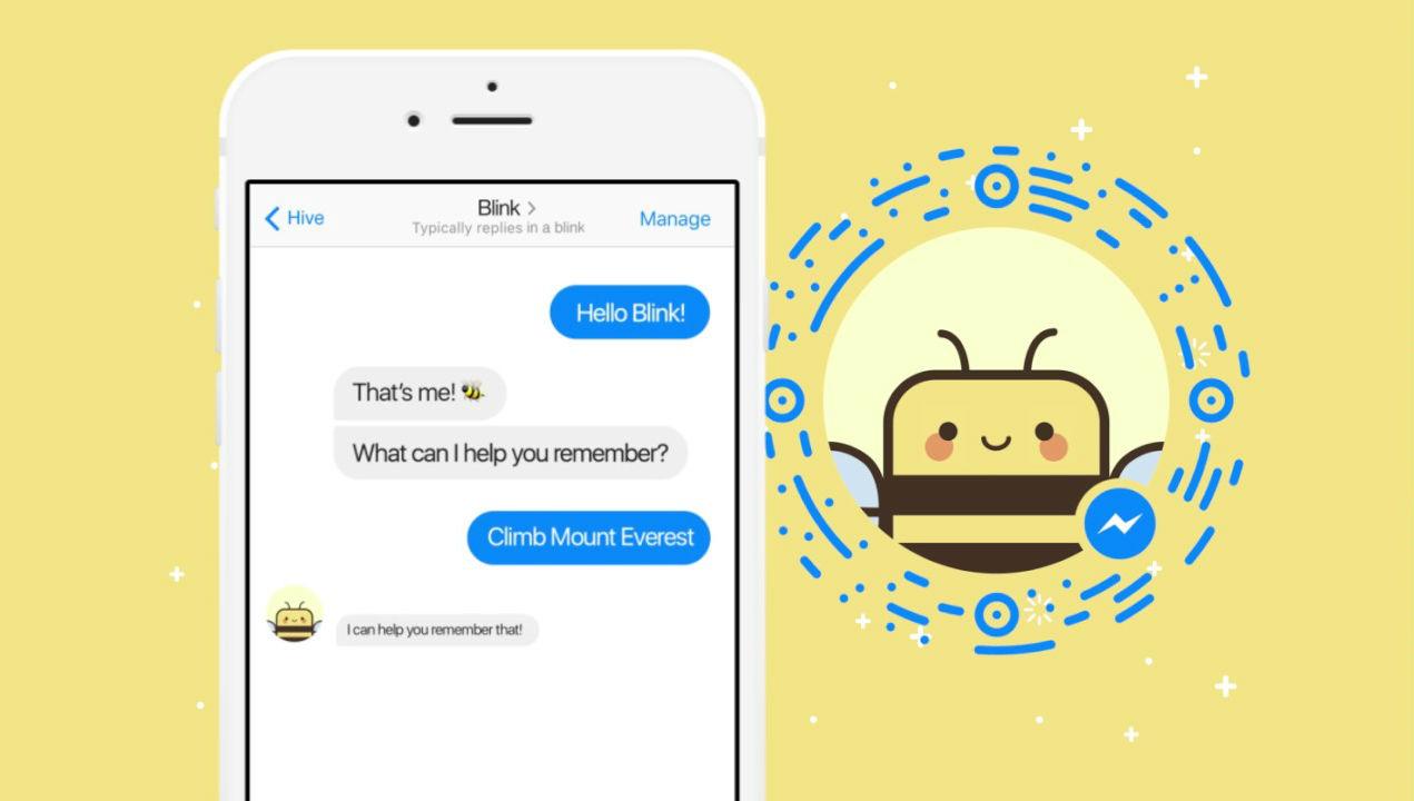 """""""Blink the bee"""" serve per ricordare quello che devi fare tramite Messanger"""