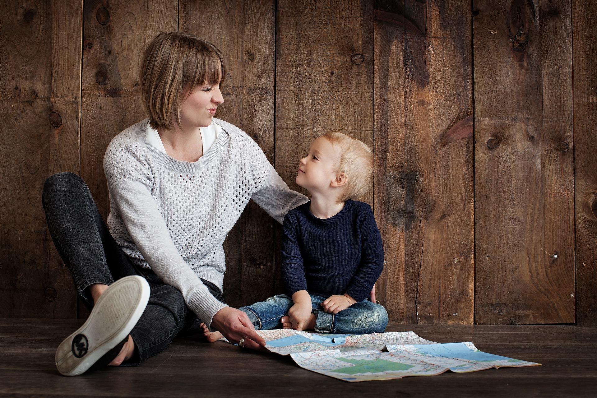 Coinvolegere i bambini nel tuo lavoro può essere una buona soluzione