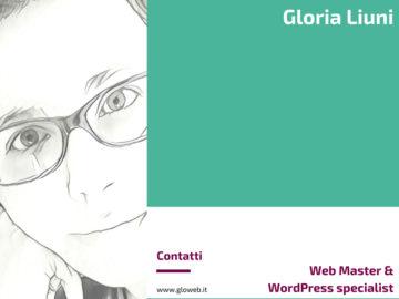 Gloria Liuni - Web Master & WordPress specialist