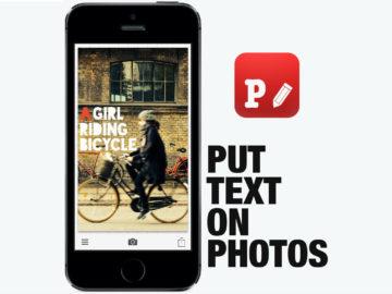 Phonto è una App per scrivere sulle tue foto, direttamente da Smartphone