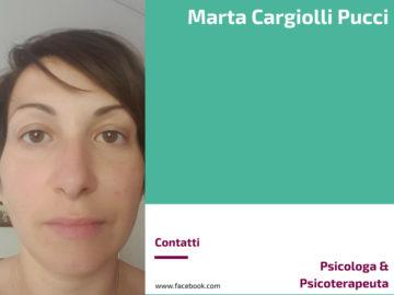 Marta Cargiolli Pucci - Psicologa & Psicoterapeuta