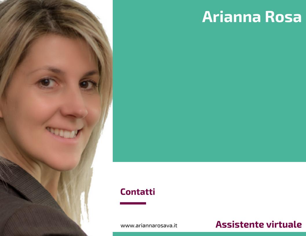 Arianna Rosa - Assistente virtuale