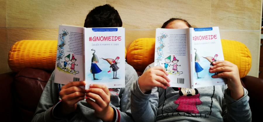 #Gnomeide è una storia, anzi una fiaba, adattata al linguaggio e al tempo dei social network, pensata per aiutare a comprendere a grandi e piccoli, a genitori e figli, qualcosa di più della pianura sconfinata e confusa che rappresenta per tutti la Rete.