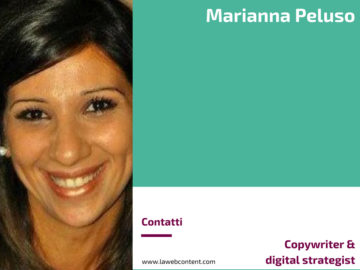 Marianna Peluso - Copywriter & digital strategist