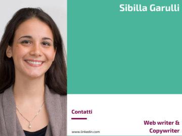 Sibilla Garulli - Web writer e Copywriter