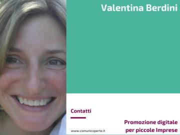 Valentina Berdini - Promozione digitale per piccole Imprese