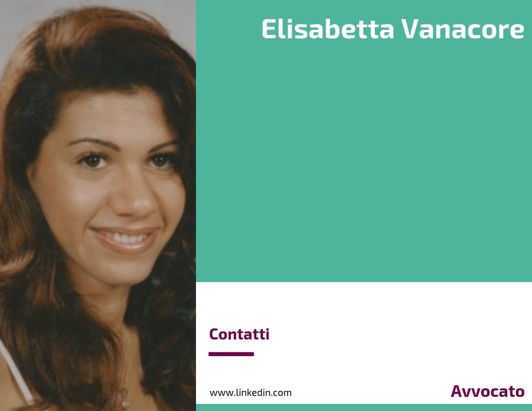 Elisabetta Vanacore - Avvocato