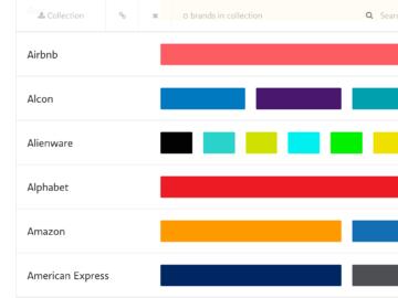 Scopri il codice colore dei brand più famosi