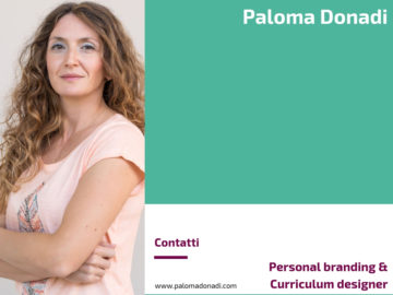 Paloma Donadi - Personal branding & curriculum designer