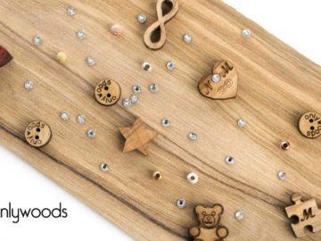 Braccialetti e non solo... tutto in legno - Onlywoods!