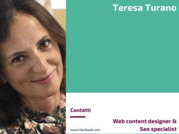 Teresa Turano - Web content designer & Seo specialist