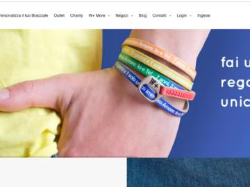 We Positive sono i braccialetti che puoi personalizzare con la frase
