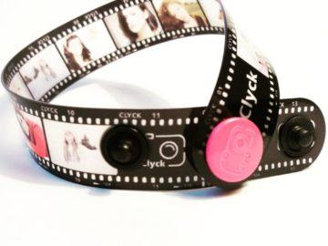 Porta sempre con te le foto più belle con il braccialetto Clyck!