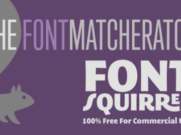 Su Font Squirrel trovi tantissimi font gratis!