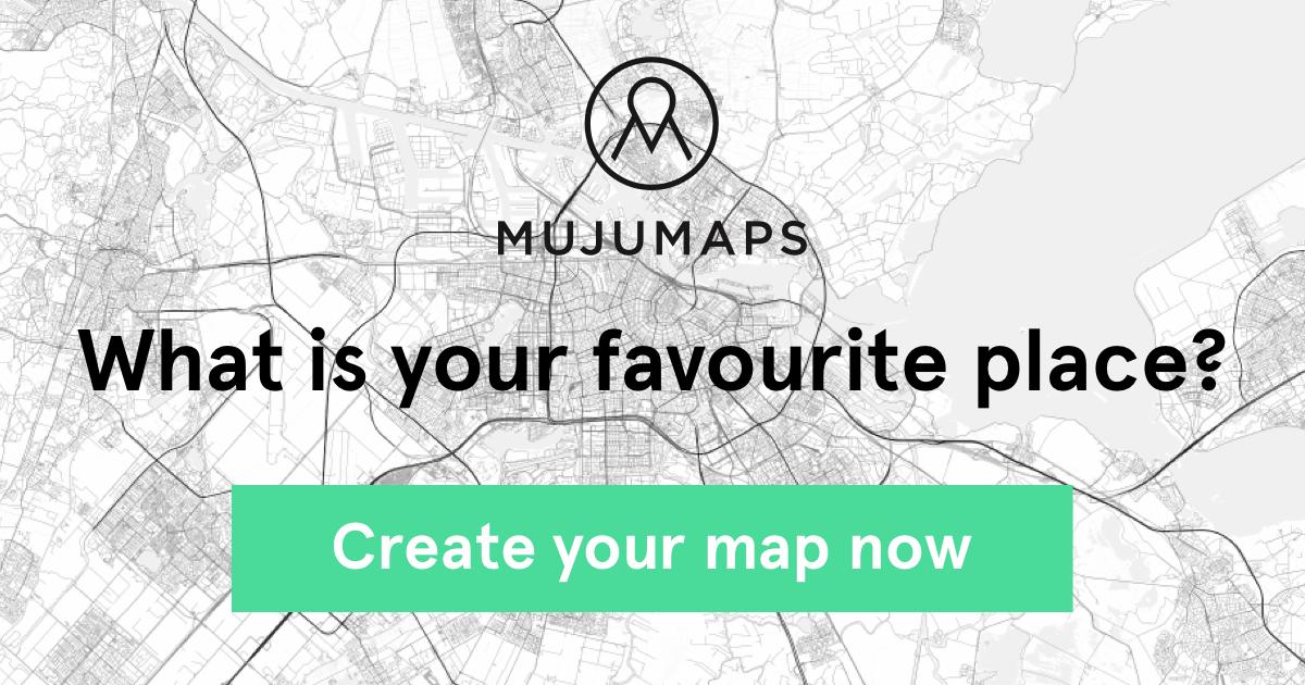 Crea la mappa della tua città del cuore con Mujumaps