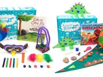 Toucan box è il regalo simpatico per bambini creativi e amanti del fai-da-te