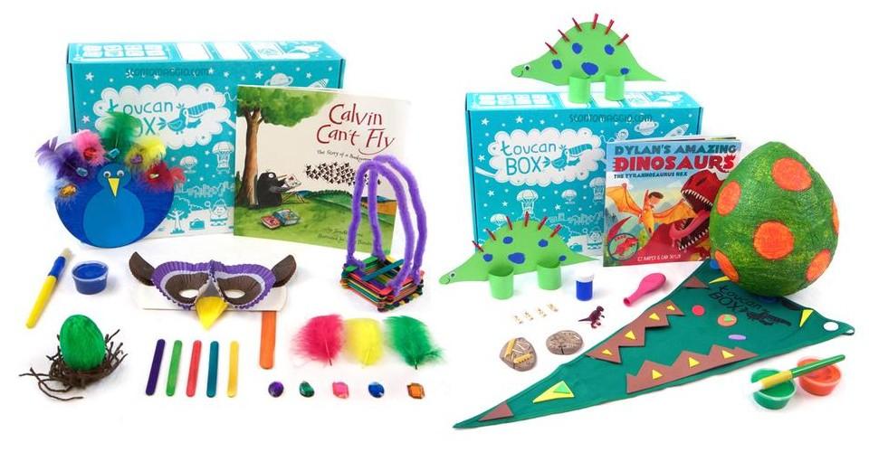 Toucan Box è Il Regalo Per Bambini Creativi E Amanti Del Fai Da Te