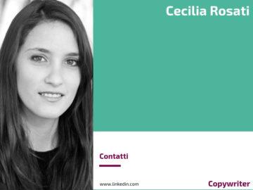 Cecilia Rosati - Copywriter
