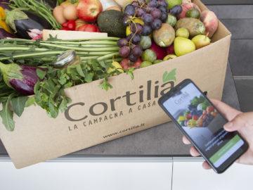 Con Cortilia i prodotti viaggiano a temperatura controllata fino a casa tua
