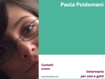 Paola Poidomani - Medico veterinario