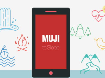 Una App targata Muji aiuterà il tuo relax e ti farà fare sogni d'oro