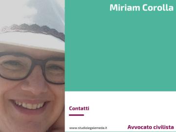 Miriam Corolla - Avvocato civilista