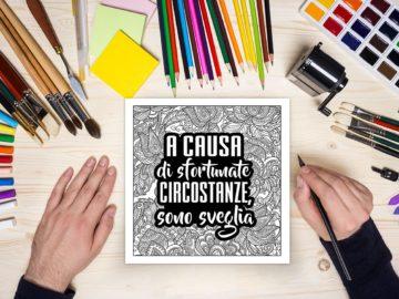 Libri antistress da colorare per far passare il nervoso :)