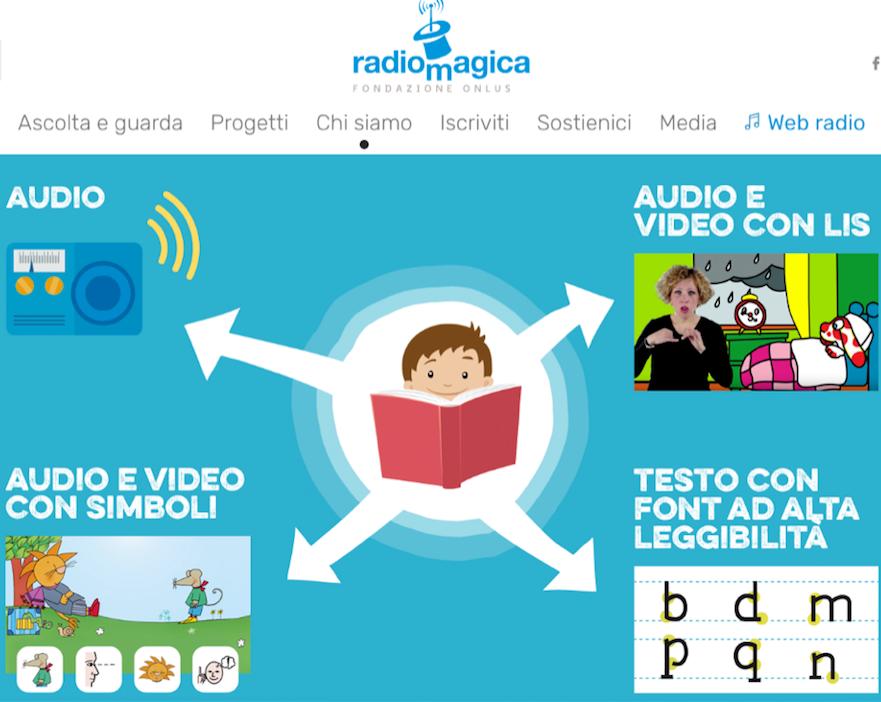 Radio Magica è la piattaforma inclusiva di musica e storie per tutti i bambini e ragazzi