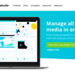 Con Hootsuite puoi gestire tutti i tuoi account social tramite un'unica applicazione. Wow!