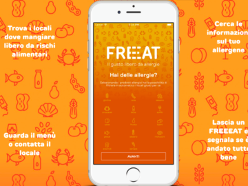 Freeat, la App che ti aiuta a trovare il ristorante che rispetta la tua allergia