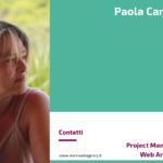 Paola Caneva - Project Manager e Web Architect